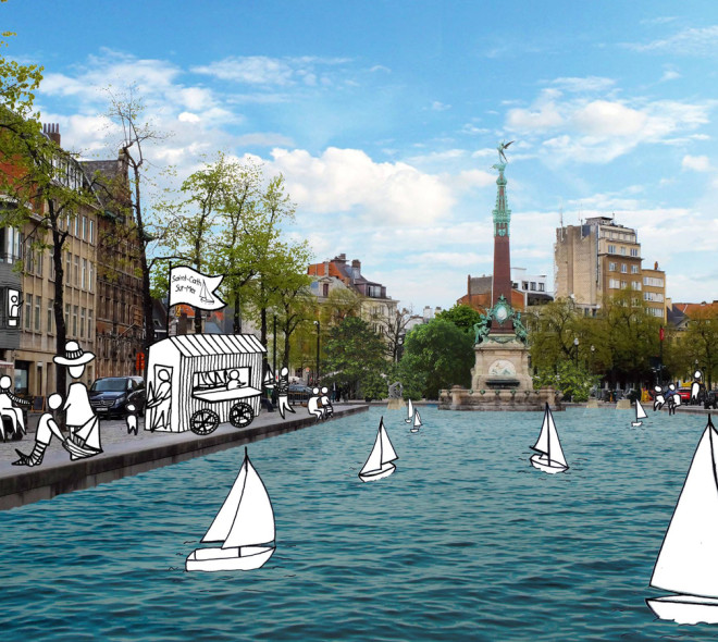 Des bateaux à Sainte-Catherine