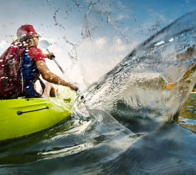 Traversée de la Manche en kayak