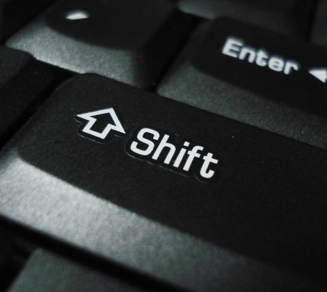 You shift or not ?