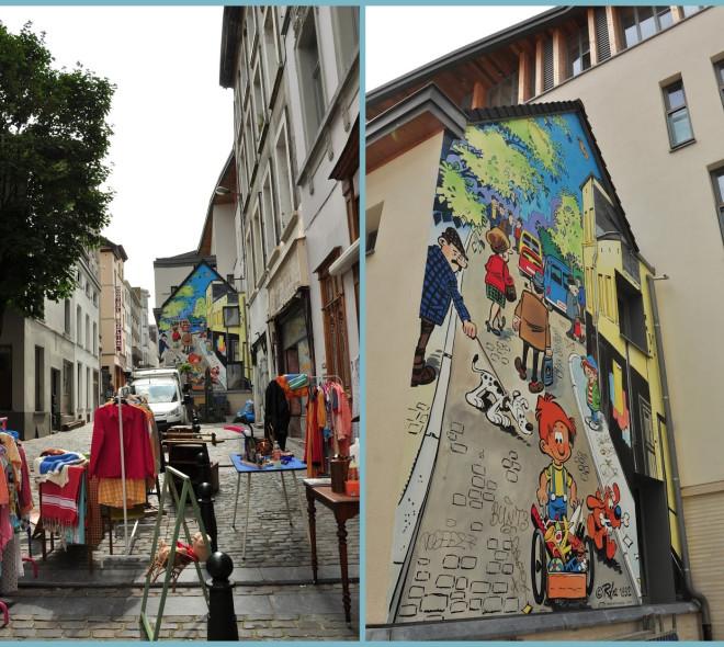 Les fresques insolites dans Bruxelles