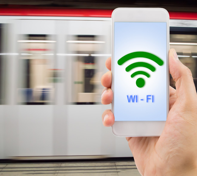 We have trialled free Wi-Fi in the metro