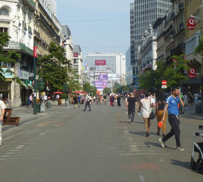 Piétonnier : la Ville de Bruxelles offre une prime pour rénover les façades