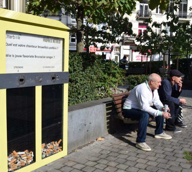 Les fumeurs votent avec leurs mégots