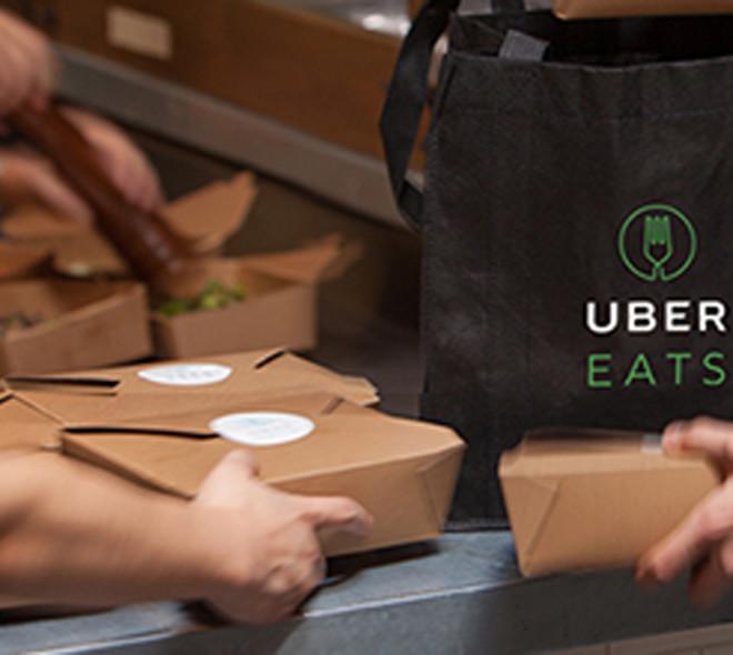 UberEATS livre à Bruxelles