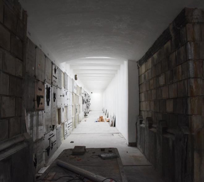 Cimetière de Laeken: la rénovation des galeries vient d'être achevée