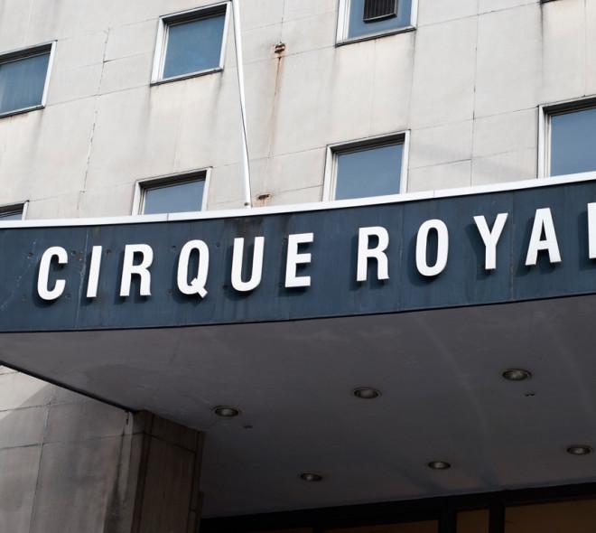 Le Cirque Royal dans le parc de salles de Brussels Expo: c'est fait (ou presque)