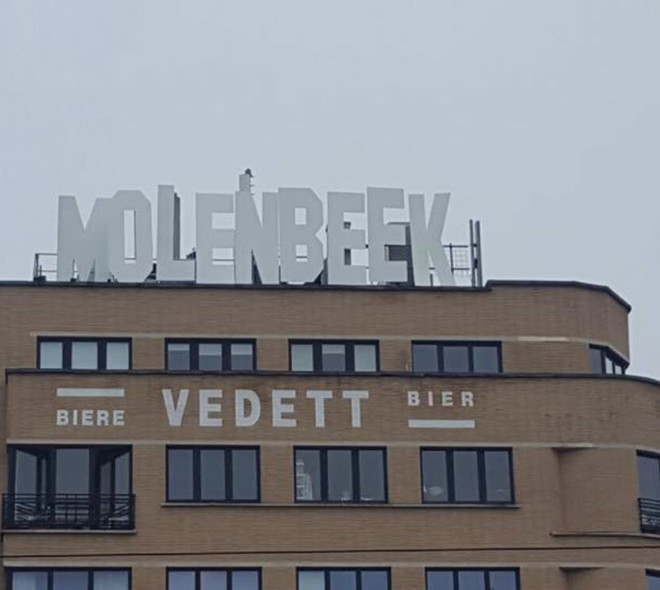 Molenbeek prend des allures d'Hollywood