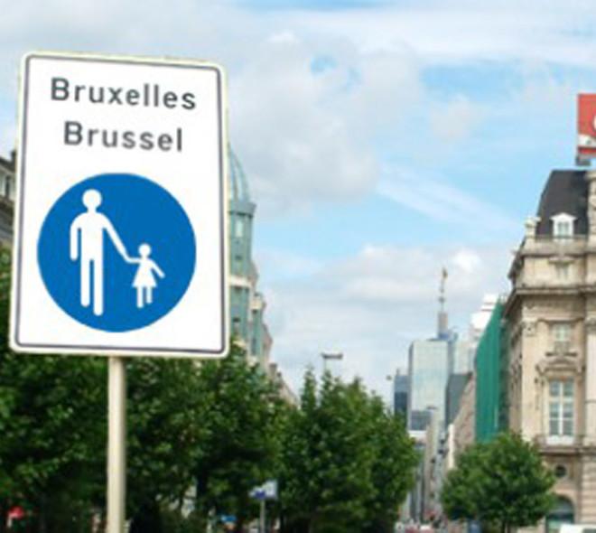Les platanes de la Place de Brouckère déménagent