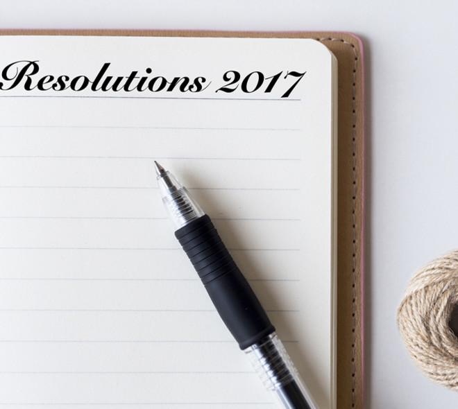 Les résolutions pour 2017 des personnalités
