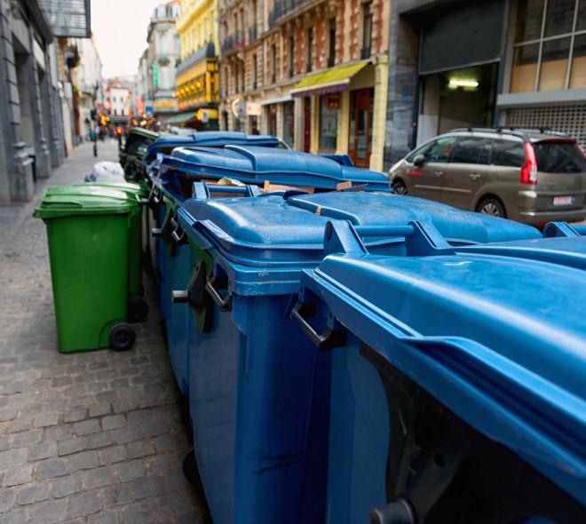 Poubelles à Bruxelles: en cas d'erreur de tri vous ne serez pas sanctionné avant février