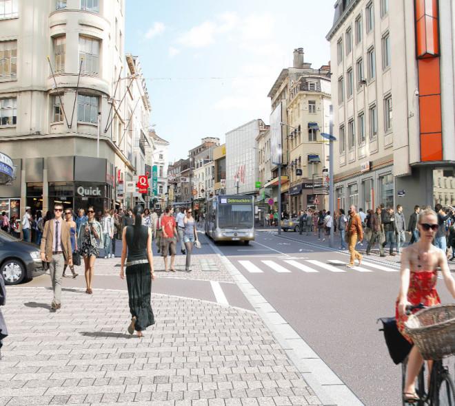 Bientôt un nouvel aménagement pour la Chaussée d'Ixelles