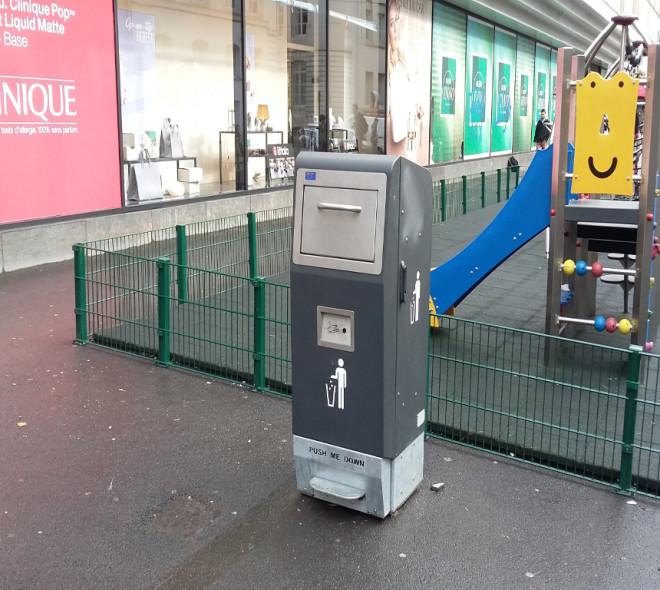 Les poubelles intelligentes ont séduit Bruxelles.
