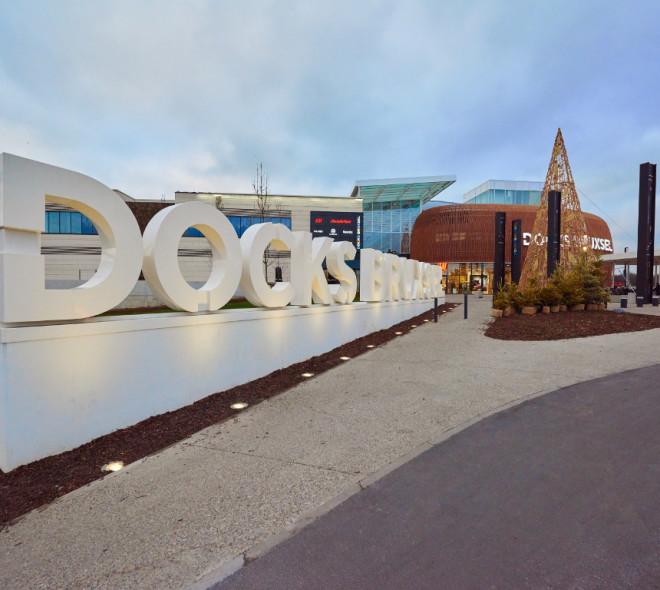 Docks Bruxsel a accueilli 2 millions de visiteurs en 3 mois.