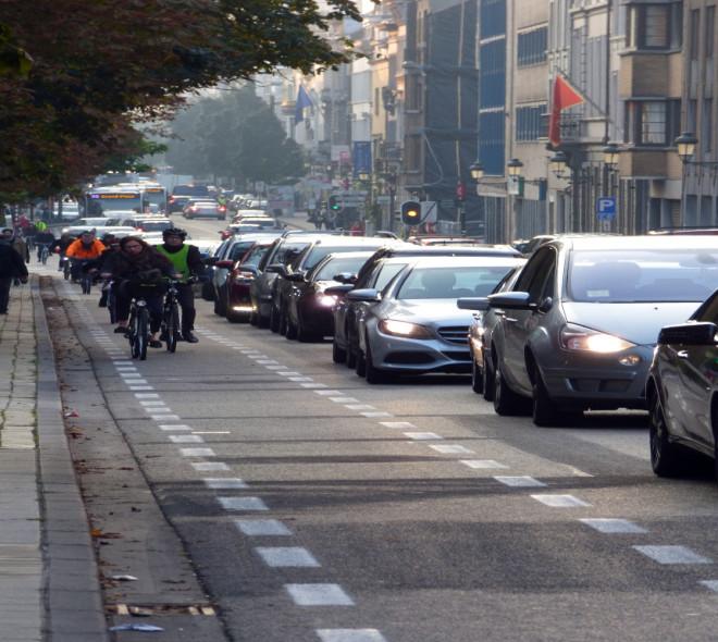 Se déplacer en vélo, le choix de plus en plus de Bruxellois.