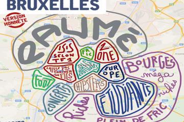 Bruxelles selon Topito: le sud méga riche, le nord méga paumé