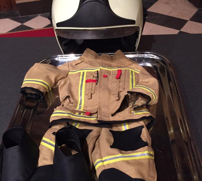 Un nouveau costume de Pompier pour le Manneken-Pis