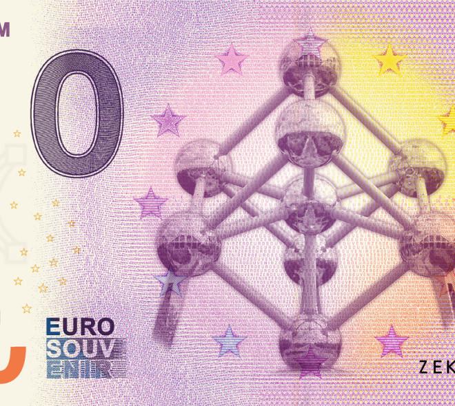 Les collectionneurs s'arrachent le nouveau 'billet de banque' Atomium