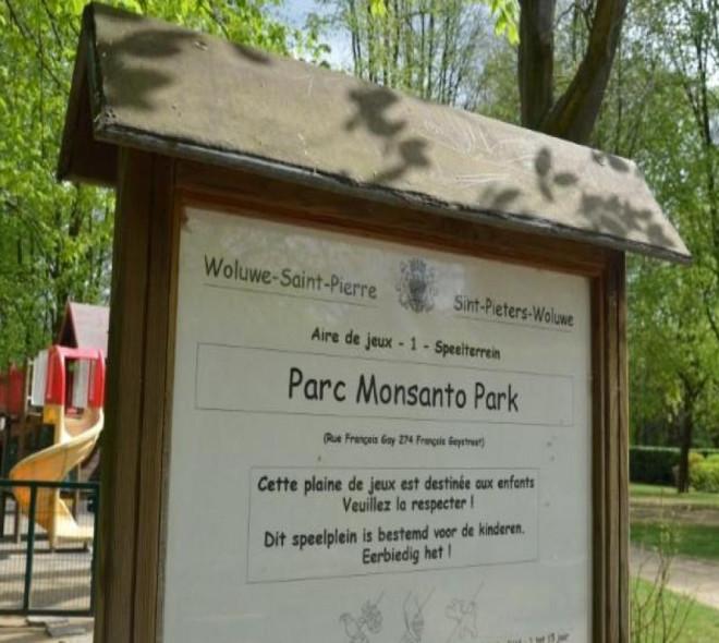Le parc Monsanto rebaptisé à Woluwe Saint-Pierre