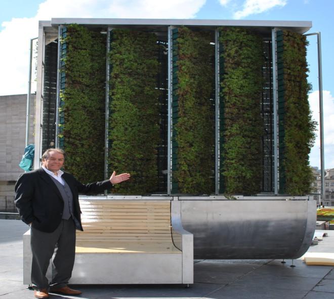 Un arbre nouvelle génération à découvrir dans le centre-ville de Bruxelles