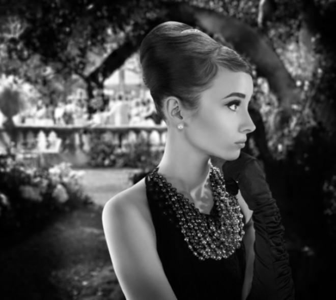 Audrey Hepburn : l'ixelloise