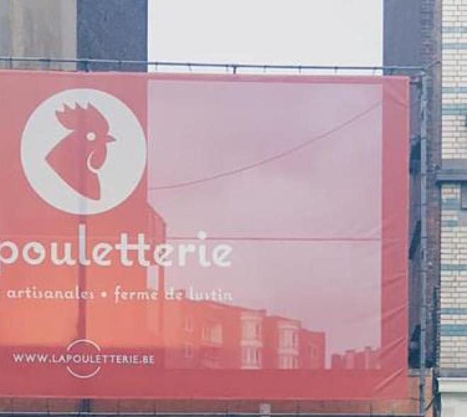 La pouletterie en ville: la ferme de Lustin à Bruxelles