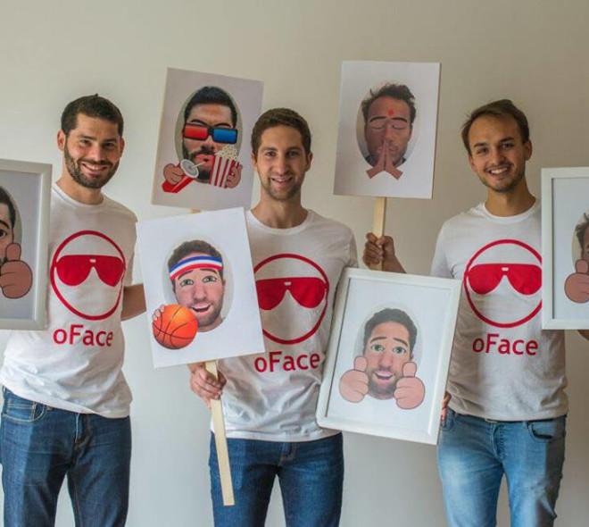 Oface: une startup bruxelloise lance la révolution des emojis