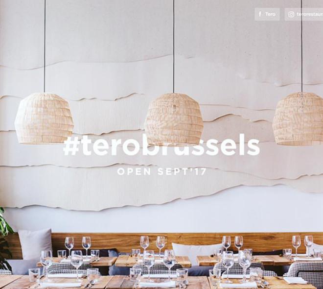 TERO restaurant : la nouvelle cuisine à Bruxelles