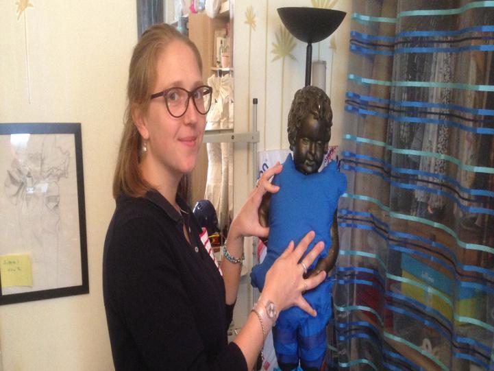 Sophie Wéry: Costumière officielle du Manneken-Pis