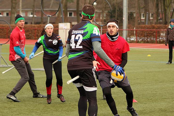Le Quidditch: nouveau sport à Bruxelles