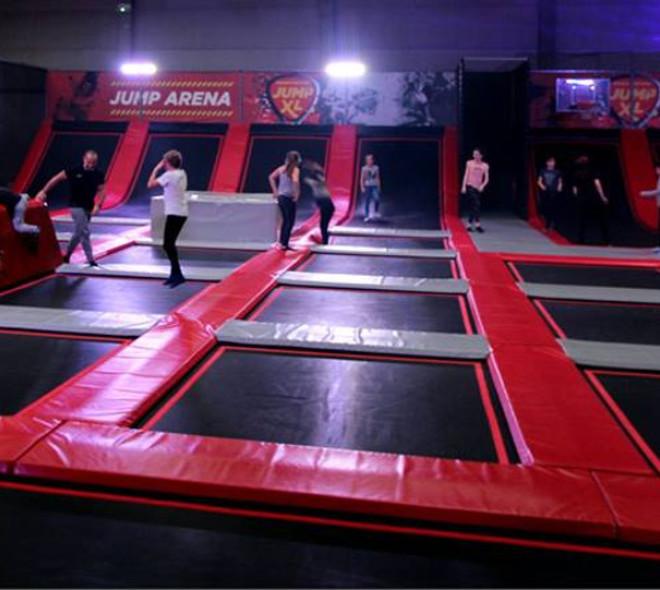 Jump XL: un premier trampoline park ouvre à Bruxelles