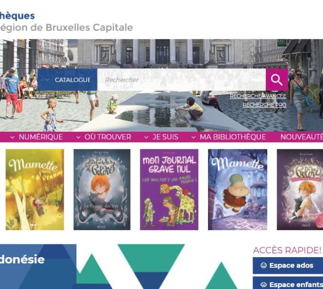 Biblio.brussels : un portail pour les bibliothèques de la capitale