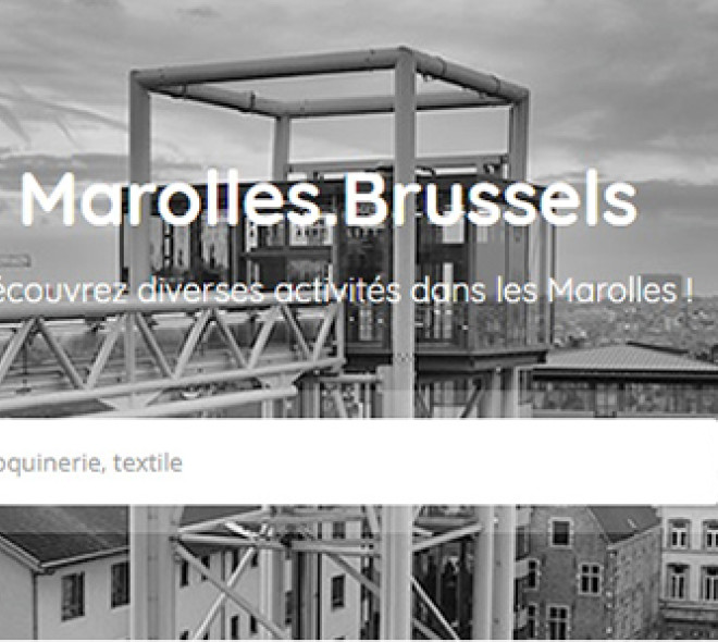 The Marolles area revamps on the internet