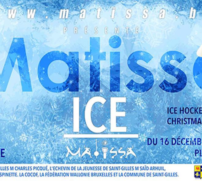 Bruxelles a une patinoire écologique à St-Gilles !