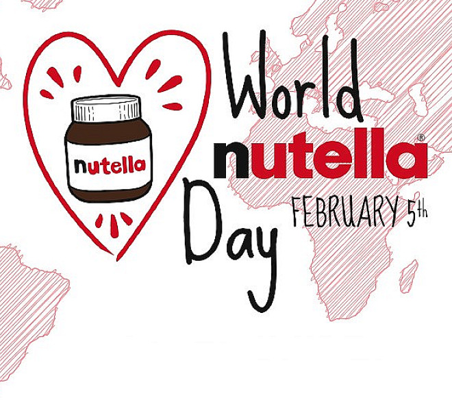 Ce lundi 5 février, c'est la journée mondiale du Nutella !