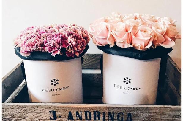 The Bloomery Bruxelles: une nouvelle façon d'offrir des roses