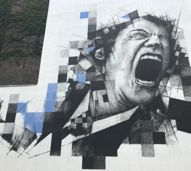 Le Bruxellois FSTN rejoint le PARCOURS Street Art !