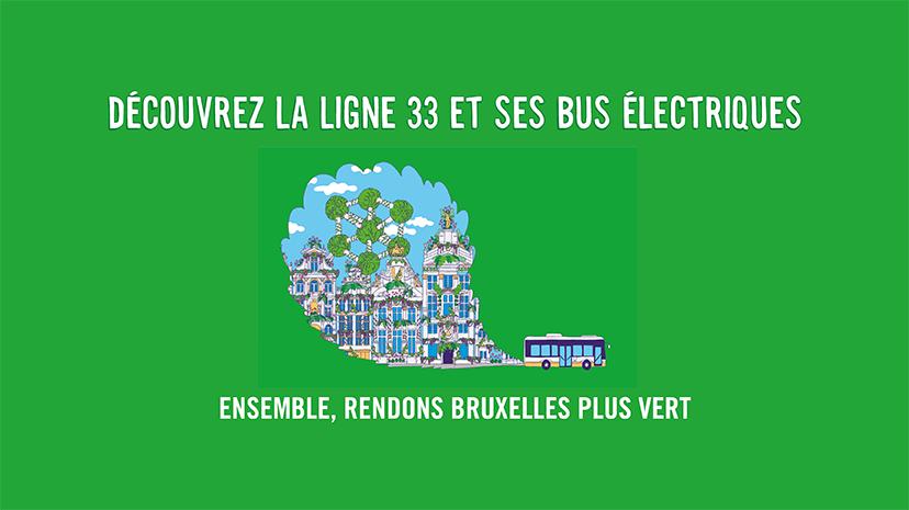 STIB: le bus 33 est la première ligne 100% électrique à Bruxelles