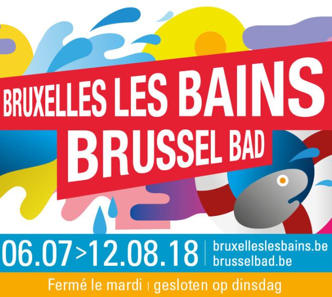 Bruxelles les Bains 2018 : découvrez le programme