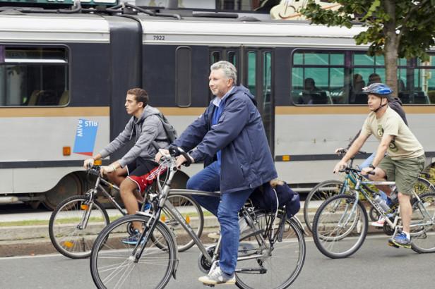 Faire du vélo à Bruxelles, pas de problème. Mais sur des pistes cyclables c'est encore mieux. Il y a 72 km de pistes à Bruxelles