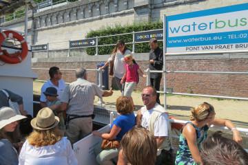 Waterbus : se déplacer à Bruxelles en bateau