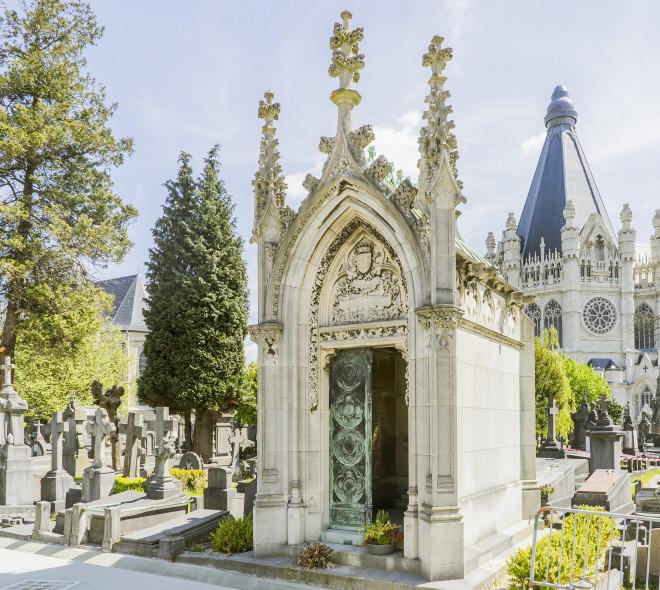 Le cimetière de Laeken : le Père Lachaise bruxellois