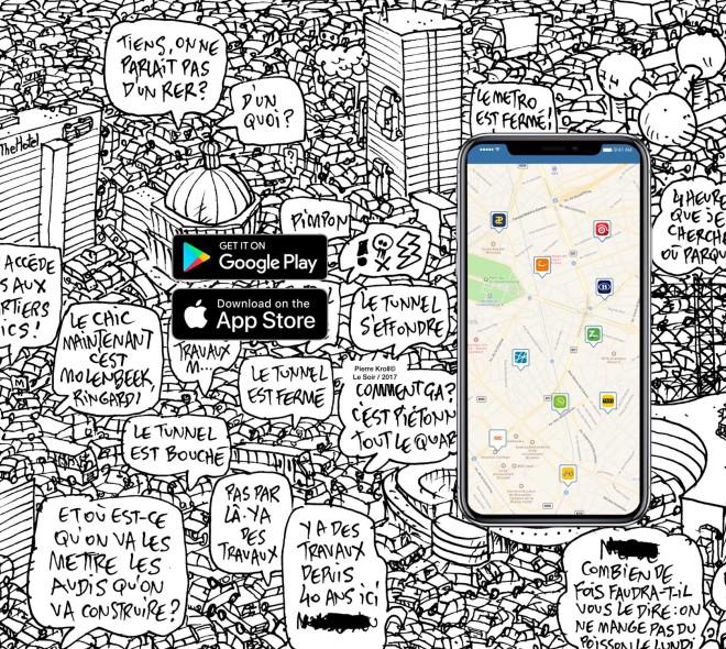 Joyn Joyn : l'application qui vous donne toutes les solutions de mobilité à Bruxelles
