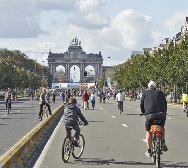Dimanche sans voiture à Bruxelles : il est temps de bouger!
