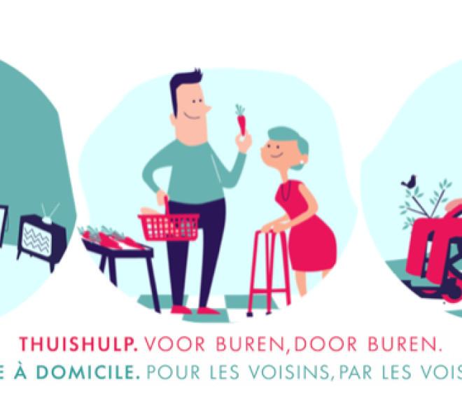 Helpper : l'application d'entraide arrive à Bruxelles