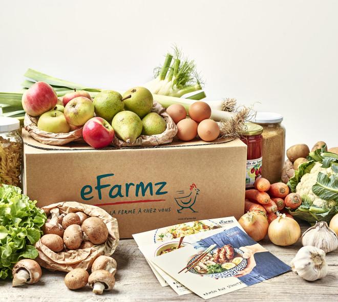 Isabelle Arpin prend les commandes des box repas d'eFarmz