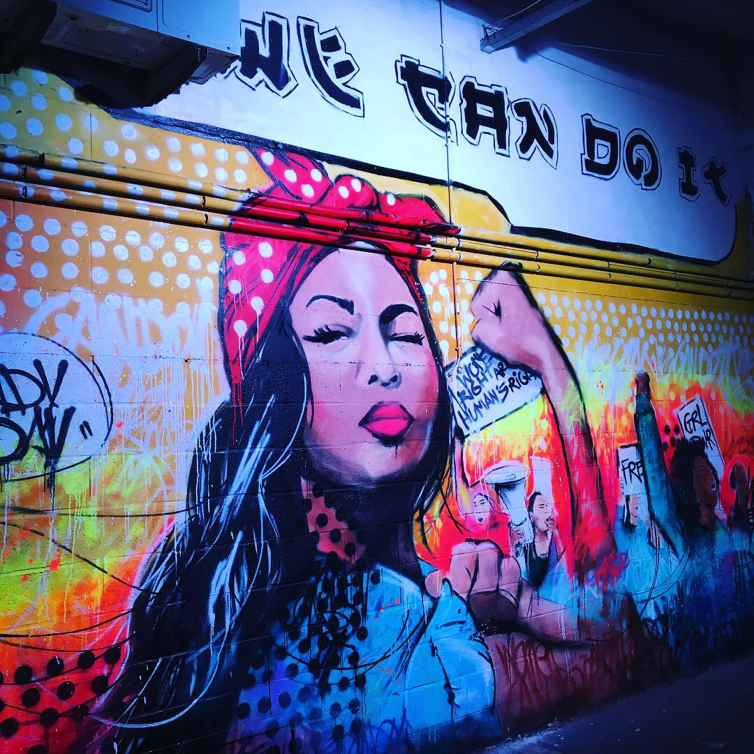 Le Street Art s'installe dans l'ancien Delhaize Molière grâce à Strokar Inside