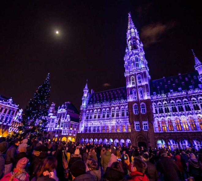 Le folklore de Noël à Bruxelles, tout un décor !