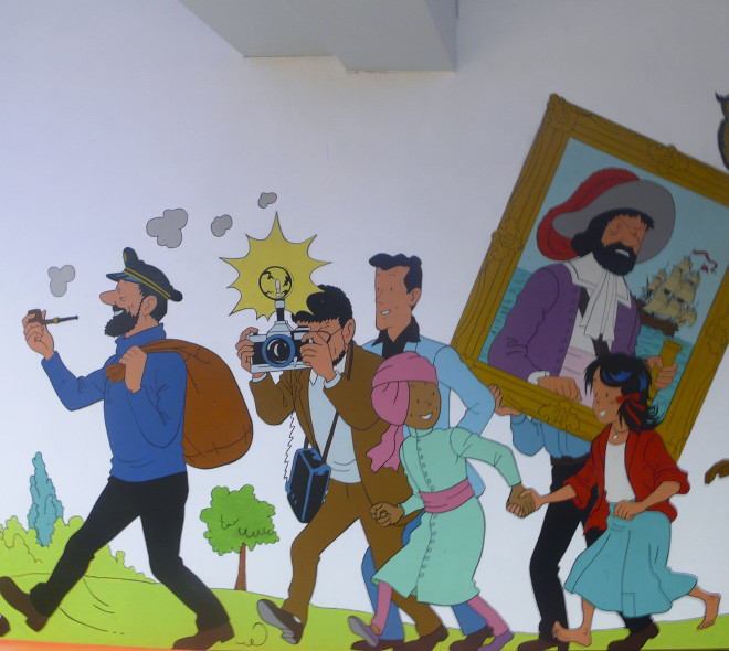 Les 90 ans de Tintin