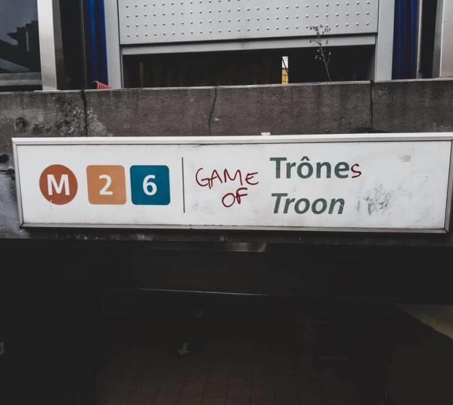 """""""Game of Thrones"""" laisse des marques à Bruxelles"""