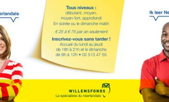 Willemsfonds Bruxelles - Spécialiste du néerlandais